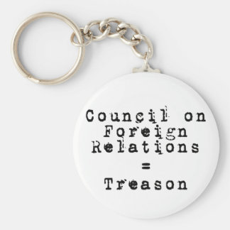Council on Foreign Relations = Treason Keychain