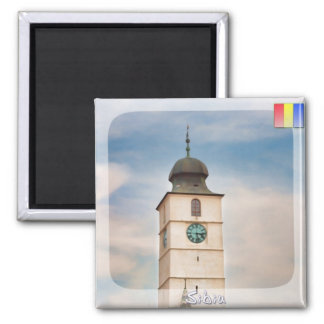 Council tower 2 inch square magnet