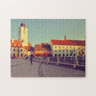 Council tower Sibiu Jigsaw Puzzles