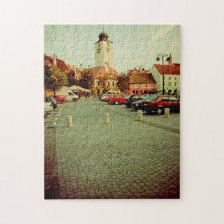 Council tower Sibiu Puzzles