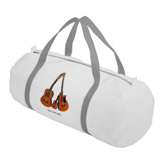 Counrty Folk Music Acoustic Instruments Duffle Bag
