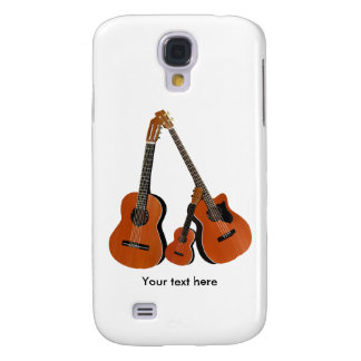 Counrty Folk Music Acoustic Instruments Samsung Galaxy S4 Case