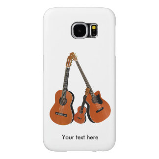 Counrty Folk Music Acoustic Instruments Samsung Galaxy S6 Case