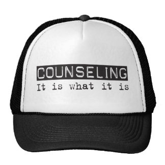 Counseling It Is Mesh Hats