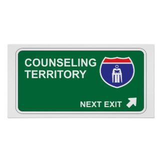 Counseling Next Exit Poster