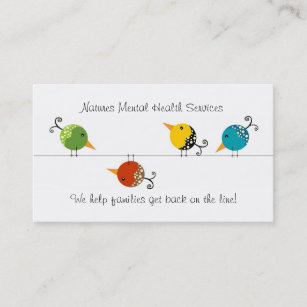 Mental health business cards templates zazzle counseling services business card colourmoves