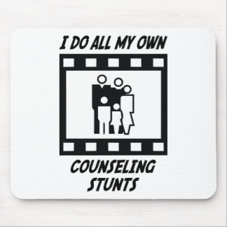 Counseling Stunts Mouse Pad