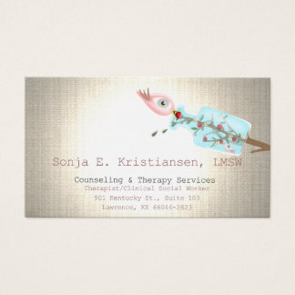 Counseling Therapy Services Business Card