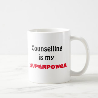 Counselling is my superpower mug