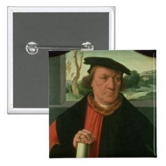 Counsellor Arnold Von Brauweiler, 1535 Button