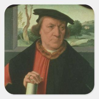 Counsellor Arnold Von Brauweiler, 1535 Square Sticker