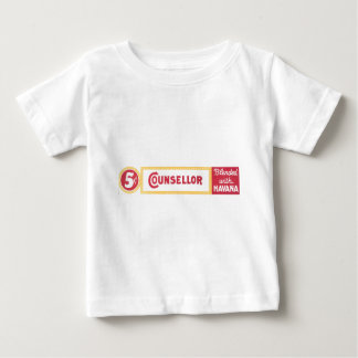 Counsellor Vintage Cigar Label image Baby T-Shirt
