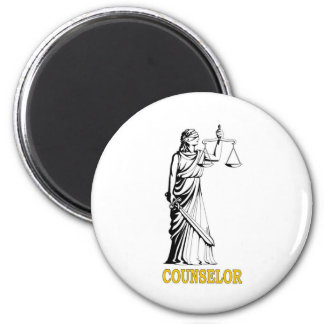 COUNSELOR 2 INCH ROUND MAGNET