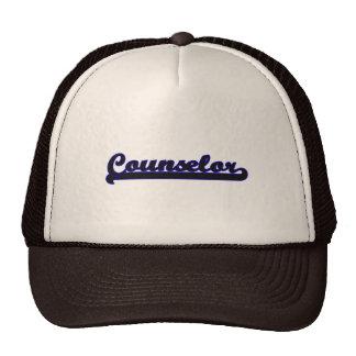 Counselor Classic Job Design Trucker Hat