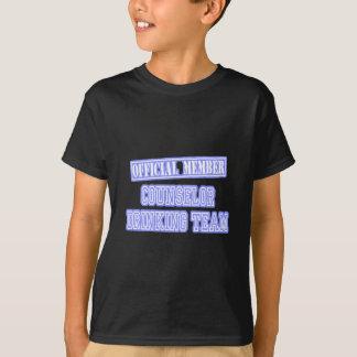 Counselor Drinking Team T-Shirt