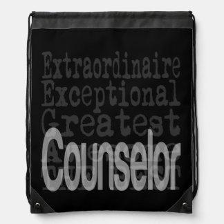 Counselor Extraordinaire Drawstring Bag