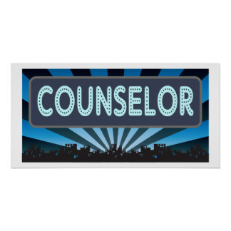 Counselor Marquee Poster
