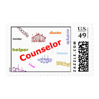 Counselor Postage Stamps