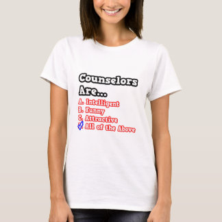 Counselor Quiz...Joke T-Shirt