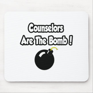 Counselors Are The Bomb! Mouse Pad