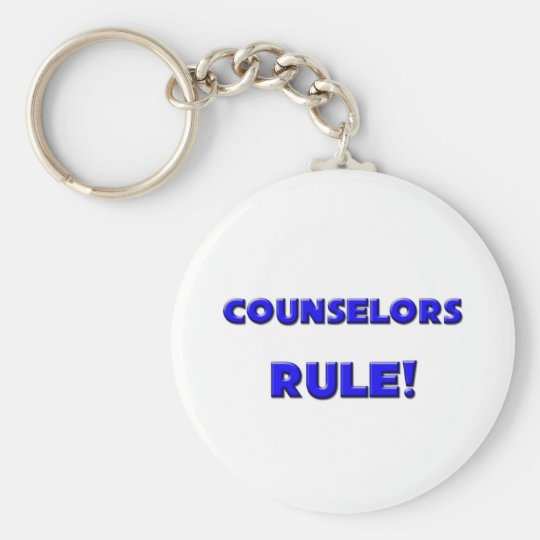 Counselors Rule! Keychain