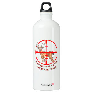 COUNT ANTLERS NOT SHEEP SIGG TRAVELER 1.0L WATER BOTTLE