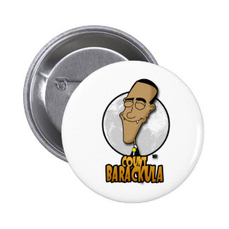 Count Barackula 2 Inch Round Button