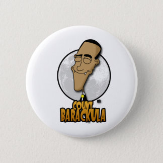 Count Barackula Pinback Button