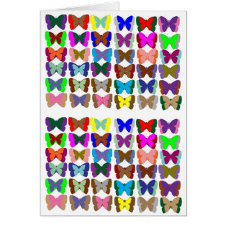 COUNT Butterflies n also LEARN Colors - Kid Stuff Greeting Card