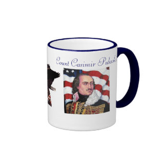 Count Casimir Pulaski Ringer Mug