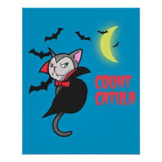 Count Catula Poster
