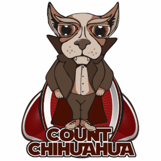 Count Chihuahua Sculpture Acrylic Cut Out