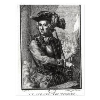 Count Claude de Forbin Postcard