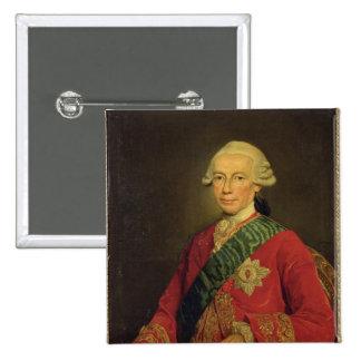 Count Claude-Louis-Robert de Saint-Germain  1777 Button