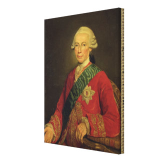 Count Claude-Louis-Robert de Saint-Germain  1777 Canvas Print