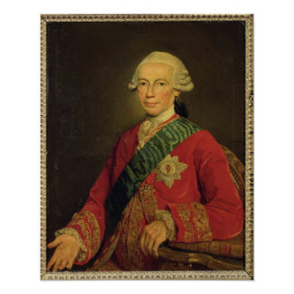 Count Claude-Louis-Robert de Saint-Germain  1777 Poster