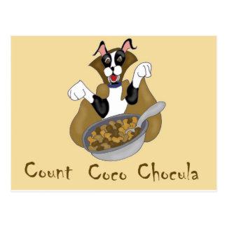 Count Coco Chocula Postcard