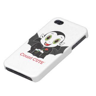 Count Cute® iPhone 4 Case