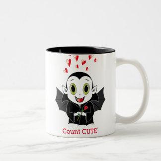 Count Cute® Two-Tone Mug