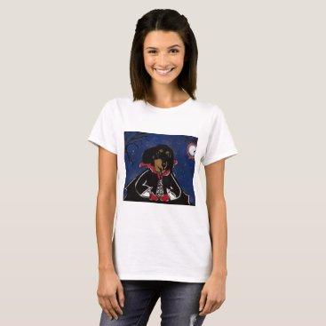 Halloween Themed Count  Dachshund T-Shirt