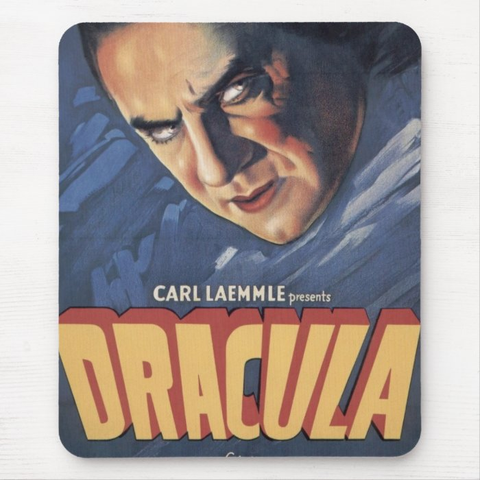 Count Dracula 1931 Mouse Pad