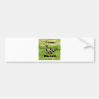 Count Duckula Bumper Sticker