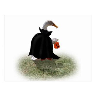 Count Duckula is on his way! Postcard