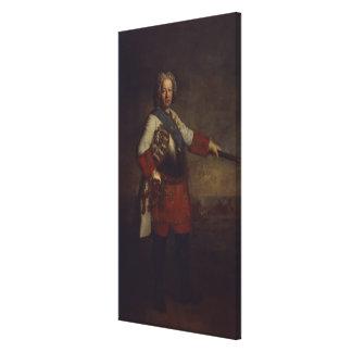 Count Friedrich Heinrich von Seckendorf, 1720 Canvas Prints