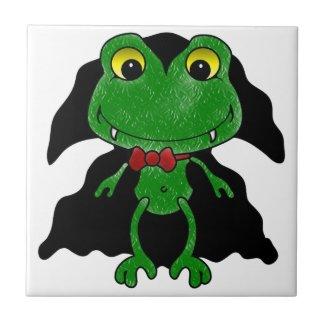 Count Frogula: Cute Vampire Frog Tile