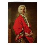 Count Galeatius Secco Suardo  c.1710-20 Card