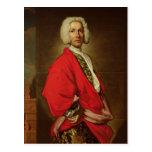 Count Galeatius Secco Suardo  c.1710-20 Postcard