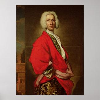 Count Galeatius Secco Suardo  c.1710-20 Poster