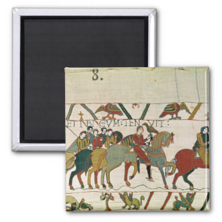 Count Guy leads him to Beurain 2 Inch Square Magnet