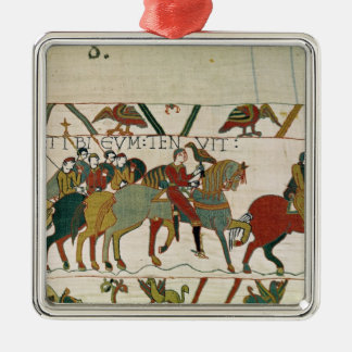Count Guy leads him to Beurain Christmas Ornament